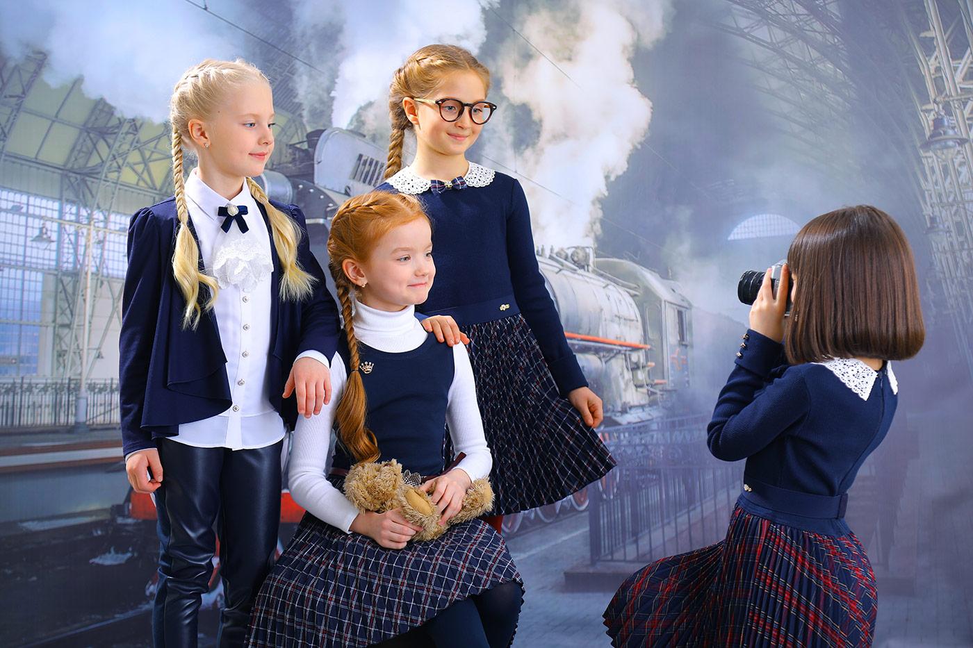Нарядные платья от бренда Маленькая Леди